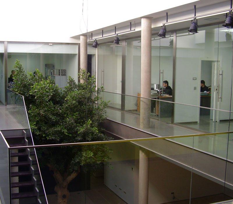 Mampara para oficina Valencia