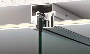 Accesorios para puertas de vidrio