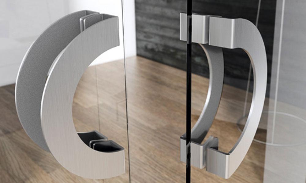 Accesorios para puertas de cristal