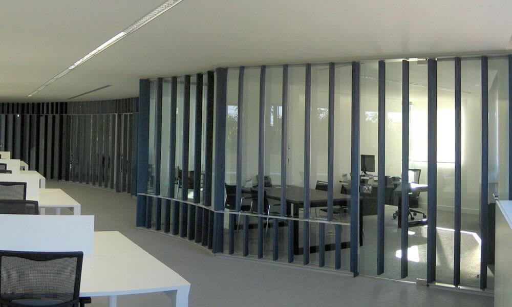 Mampara de oficina en Valencia