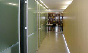 Mamparas de oficina de diseño