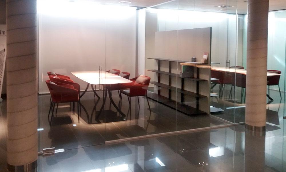 Mamparas de oficina en Valencia
