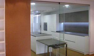 Mamparas de cristal en el hogar