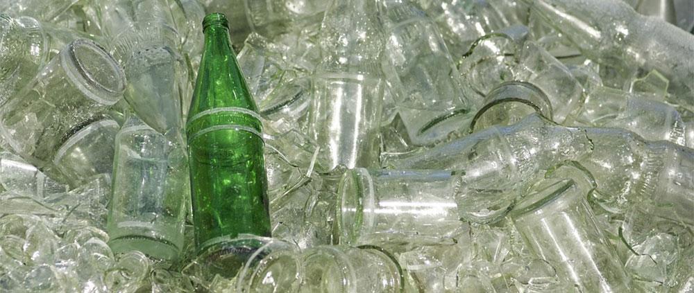 Reciclaje del vidrio y el cristal